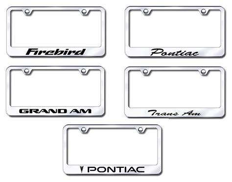 Pontiac License Plate Frame by Pontiac License Plate Frames