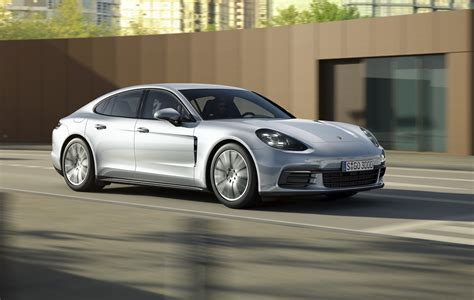 porsche panamera 2017 porsche panamera base model revealed gets new v6