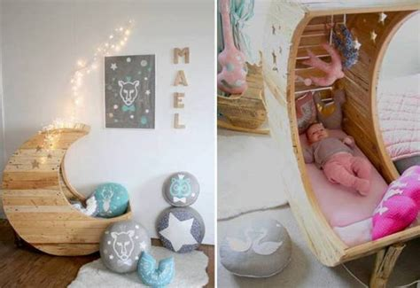 Diy Moon Shaped Cradle 1 - moon shaped baby crib find projects to do at