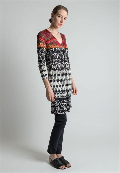 etro quilted jacket in tribal pattern santa fe dry goods etro tribal pattern silk dress tunic in black white and