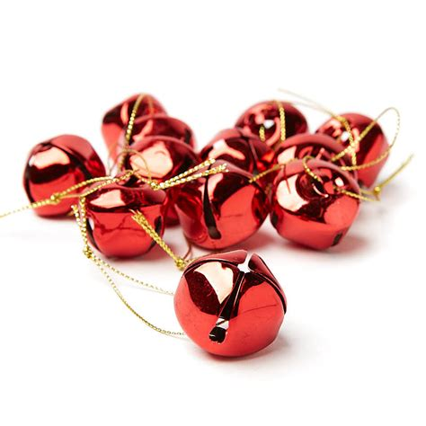 red jingle bell ornaments recvd