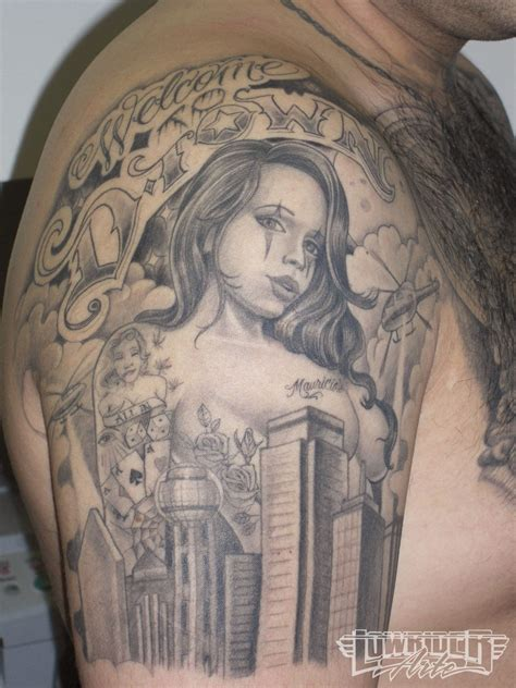lowrider tattoo art artist enrique castillo lowrider arte magazine