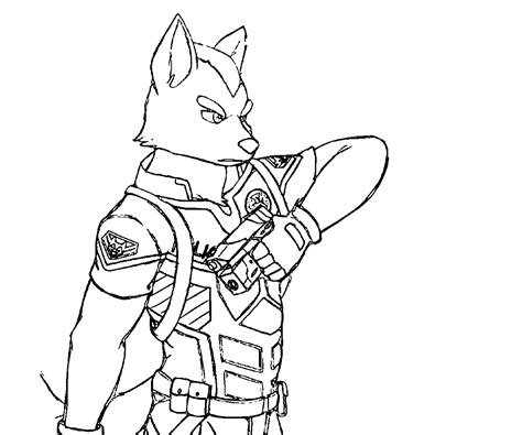 nintendo star fox coloring pages coloring pages