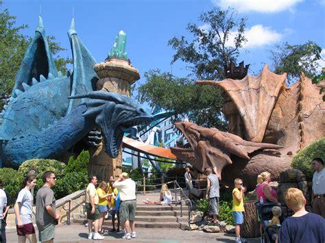 universal studios orlando adventure island dueling dragons at universal orlando s islands of adventure