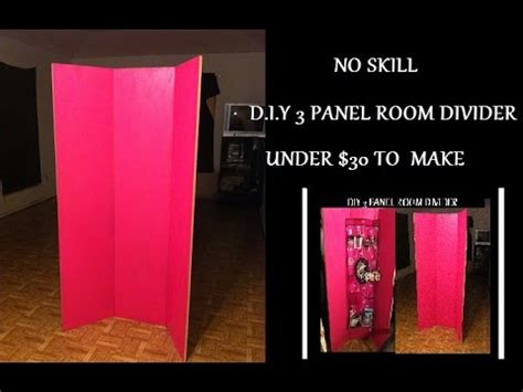 how to make a room divider diy 3 panel room divider 30 to make to no