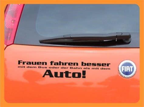 Autoaufkleber Auf Rechnung by Autoaufkleber Frauen Fahren Besser Auto Ebay