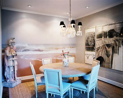 dining room wall murals french dining room photos 30 of 32 lonny