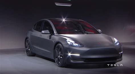 The Tesla The Tesla Model 3 Has Officially Been Revealed 50 Pics