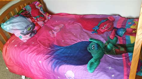 bedding at walmart bring home dreamwork s trolls with themed bedding from walmart jet setting mom