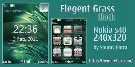 beautiful girl themes nth elegant grass theme for nokia s40 240 215 320 themereflex