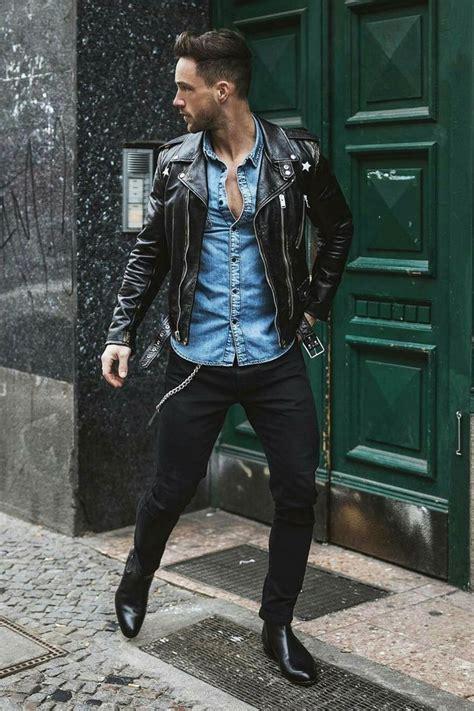 Wardrobe Menswear by Best 25 Mens Leather Biker Jacket Ideas On