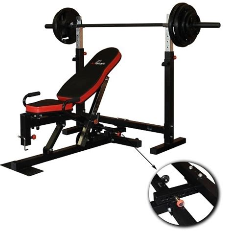 flat bench press or incline flat incline decline weight press bench squat rack