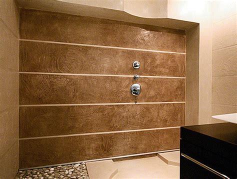 pareti doccia in resina simulazione materiali pareti arredamento pavimenti in