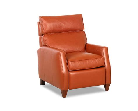 Living Room: Leather Recliners With Lighting Lamp And Small Windows Also White Curtain For