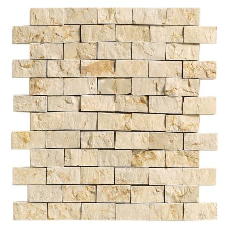1 x 2 brick joint floor tile daltile m72212sf1s crema marfil classico marble collection