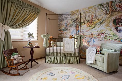 Beatrix Potter Nursery Curtains Great Tips For Children S Room Decorating Decorating Den Interiors