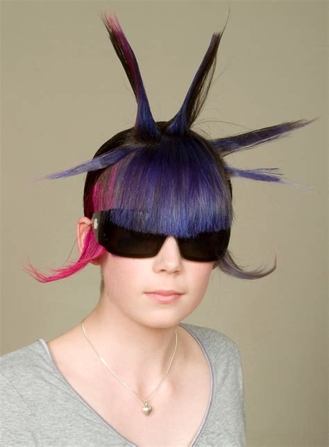 weirdest hairstyles 12 craziest hairstyles