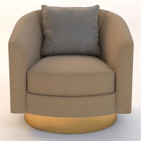 bernhardt camino swivel chair 3d model bernhardt camino swivel