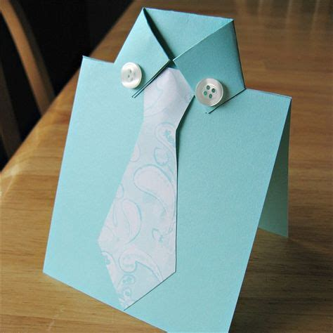 Day Origami Ideas - and easy diy fathers day card ideas to make at home