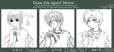 draw this again meme template draw this again meme again lol by rheamii on deviantart