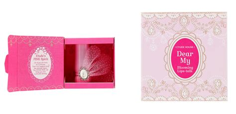 Etude House Dear My Blooming Talk Shine Pp501 Purple etude house dear my blooming talk etude pink