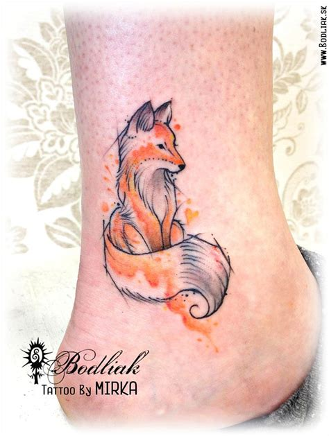 small fox tattoo mini 2016 slovakia zilina bodliak bodliaktattoo