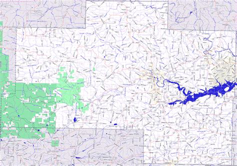 buren arkansas map landmarkhunter buren county arkansas