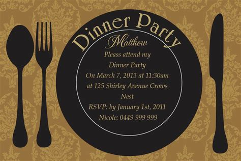 Wedding Anniversary Dinner Ideas by Anniversary Dinner Invitations Wedding Anniversary