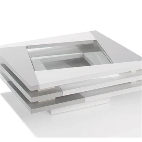 Atlas table basse table basse laque blanc et gris city meubles atlas table basse table basse