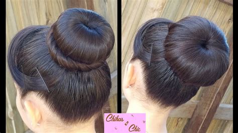 hairstyles using a bun donut classic donut bun 2 options quick and easy hairstyles