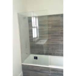 bath shower screens april identiti2 fixed mini bath screen small short
