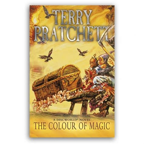 the color of magic book the colour of magic terry pratchett books discworld novels