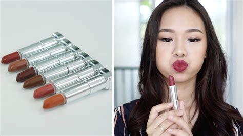 Lipstik Maybelline Terbaru maybelline powder matte lipstick swatch terbaru molita