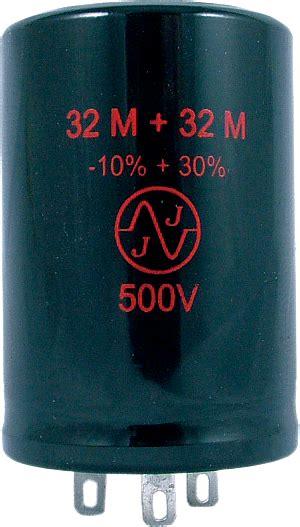 jj capacitors capacitor jj electronics 500v 32 32uf electrolytic antique electronic supply
