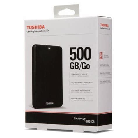 Hardisk Eksternal Toshiba 500gb Usb 3 0 jual hardisk external toshiba canvio basic 2 5 quot 500gb usb 3 0 jagoan printer