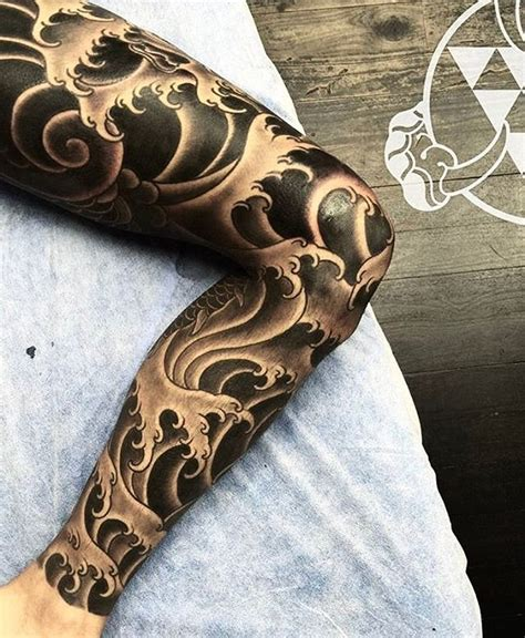 japanese wave tattoo designs best 25 wave sleeve ideas on japanese
