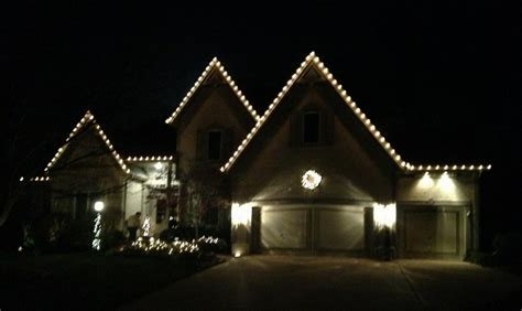 clear classy christmas lights picture from winter