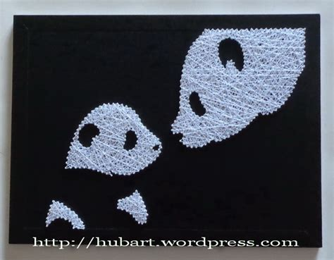 String Arts - panda family string