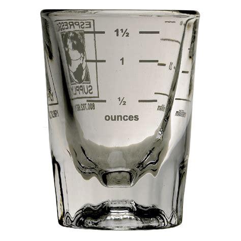 ounces in shot of espresso 2 ounce logo shot glass espresso supply inc