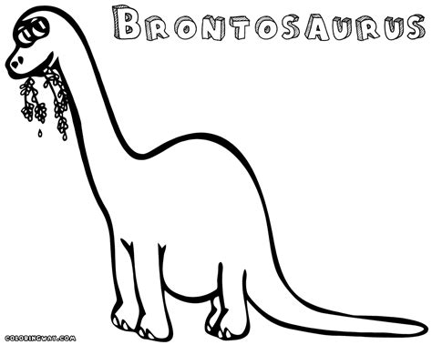 brontosaurus coloring pages coloring pages to download