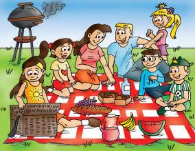 Family Picnic Clipart kickstart the cutes duckies