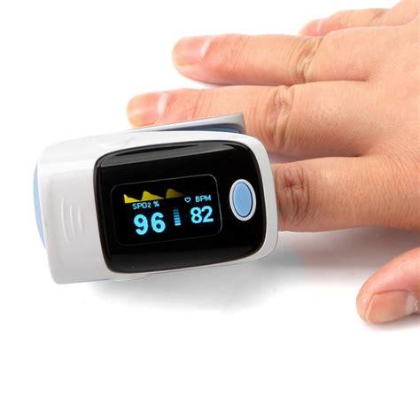 Wifi Oxygen Wireless Finger Blood Oxygen Meter Spo2 Oled Pulse