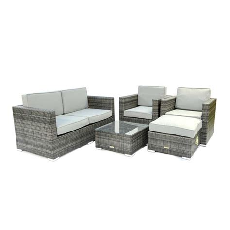 4 seat outdoor rattan sofa sets
