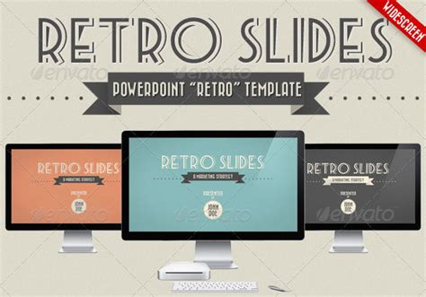 powerpoint templates free retro retro powerpoint template 19 vintage powerpoint templates