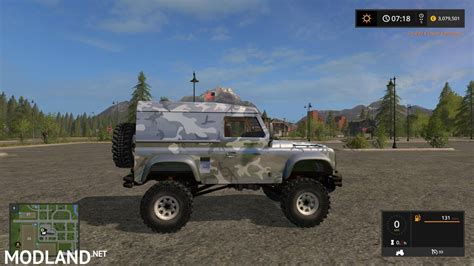 Land Rover Defender 90 V 1 0 Mod Farming Simulator 17