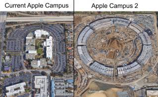 New Apple Headquarters by How Much Bigger Is The Apple S New Headquarters Mashew