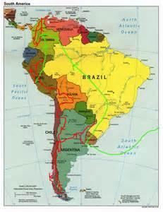 patagonia south america map throwing loops