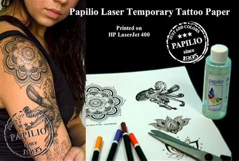 silhouette temporary tattoo paper uk 50 best tattoo paper images on pinterest tattoo paper