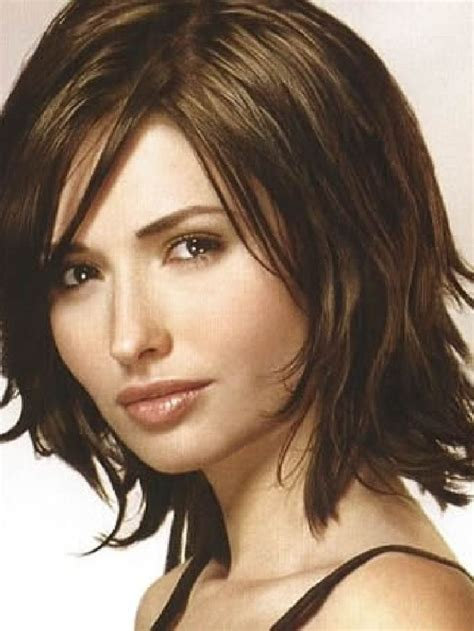 medium length hairstyles for women over 40 and oval face and thin hair medium length haircuts for women over 40 medium