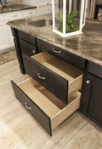 pots pans drawers in kitchen island for the home